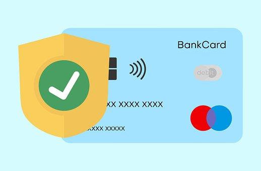 Secure, Bank, Debit, Card, Transfer, Money, Payment