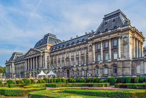 Royal Palace Of Brussels, Palace, Garden, Architecture
