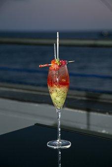 Cocktail, Drink, Alcohol, Bar, Glass, Beverage