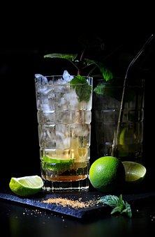 Cocktail, Mojito, Drink, Lime, Lemonade, Refreshment