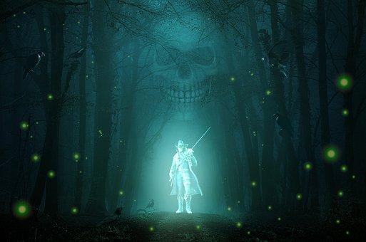Pirate, Ghost, Warrior, Swordsman, Spectrum, Spirit
