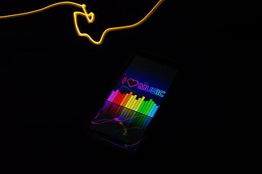 Light Painting, Freezelight, Music, Art, Line, Light