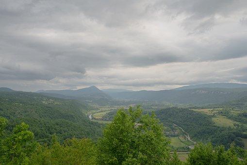 Mountains, Valley, Landscape, Bosnia