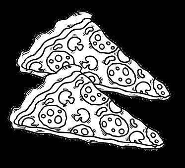 Pizza, Junk Food, Fast Food, Slice, Snacks, Food, Dish