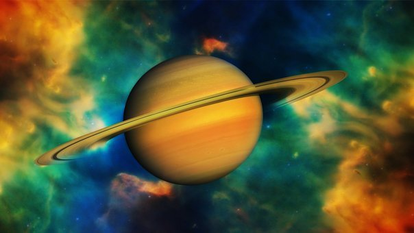 Space, Saturn, Planet, Fog, Universe, Star, Cosmos