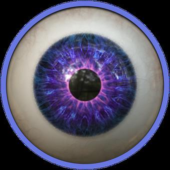 Eye, Eyeball, Pupil, Sight, Vision, Look, See
