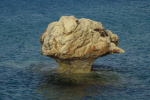 Rock, Mushroom Rock, Sea, Stone, Rock Formation, Water