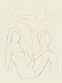 Women, Bodies, Nude, Female, Human, Breast, Mastectomy