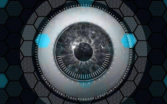 Eye, Monitor, Security, Iris, Control, Monitoring