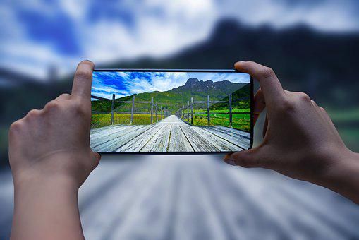 Smartphone, Camera, Landscape, Nature, Mountains