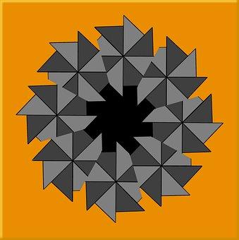 Tile, Geometric, Abstract, Shape, Design