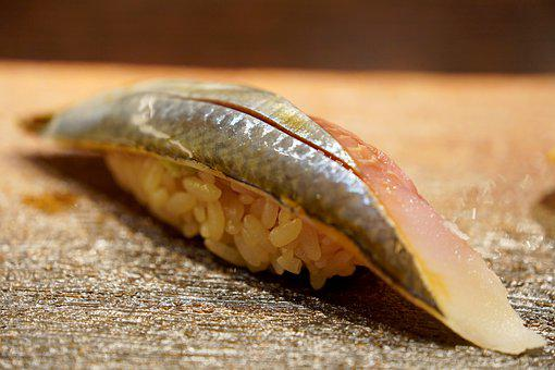 Fish, Blue Fish, Sushi, Japanese Food, Dish, Cuisine