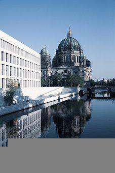 Church, Dome, River, Building, Historically