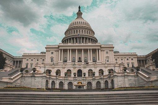 United States Capitol, Washington, Building, Landmark