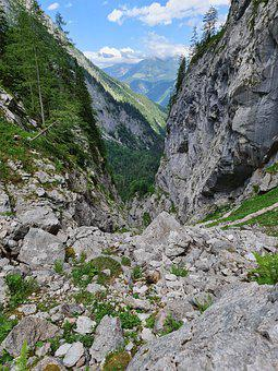 Mountains, Cliff, Rocks, Canyon, Nature, Landscape