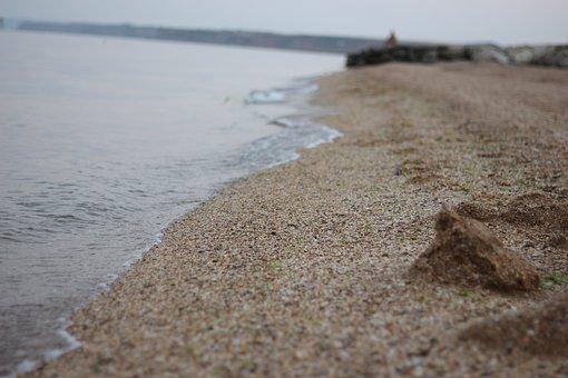 Beach, Sea, Sand, Shore, Seashore, Waves, Water, Coast