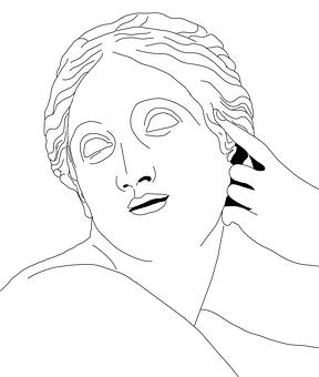 Sculpture, Figure, Naiad, Woman, Face, Statue, Art