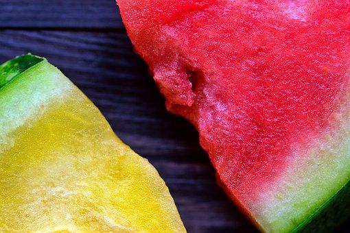Watermelon, Fruit, Food, Yellow Watermelon