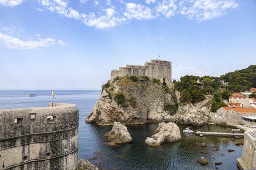 Lovrijenac, Fortress, Port, Dubrovnik, Fort Lovrijenac