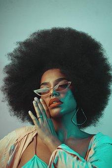 Woman, Model, Portrait, Eye Glasses, Pose, Style