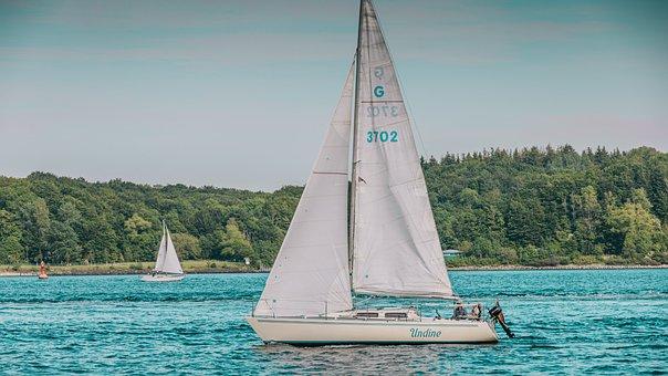 Sailing Boat, Sea, Sail, Ship, Boat, Ocean, Port, Yacht