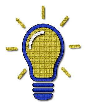 Light Bulb, Idea, Icon, Light, Bulb, Incandescent
