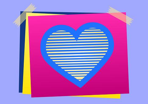 Heart, Romantico, Note, Spend, Decoration