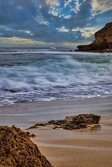 Beach, Coast, Sea, Ocean, Waves, Water, Sand, Coastline
