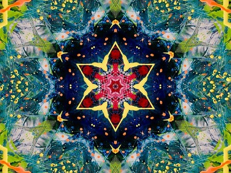 Mandala, Ornament, Wallpaper, Painting, Rosette
