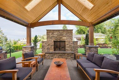 House, Patio, Furniture, Modern, Outdoors, Sofa, Chair
