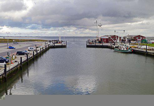 Fishing Port, Port, Sea, Boatyard, Coast, Pier, Quay
