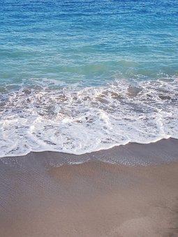 Beach, Sea, Wave, Sand, Coast, Foam, Ocean, Water