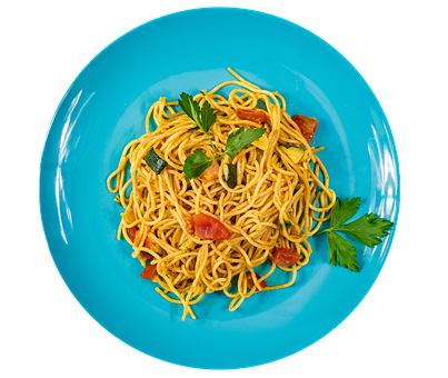 Spaghetti, Pasta, Food, Tomatoes, Zucchini, Noodles
