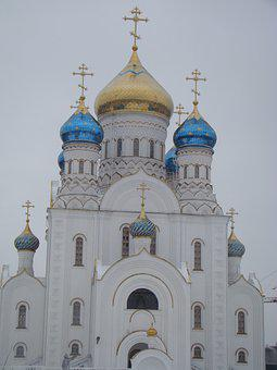 Temple, Church, Building, Facade, Architecture, Dome