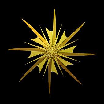 Geometric, Decoration, Tile, Bright, Glow, Design