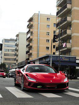 Car, Luxury, Ferrari, F8, Tribute, Automobile