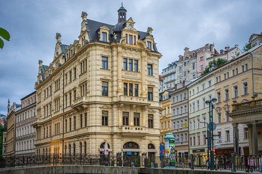 Czech Republic, City, Architecture, Karlovy Vary
