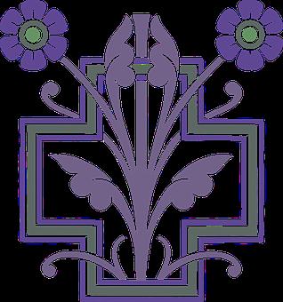 Flower, Tile, Design, Ornamental, Flourish, Decor