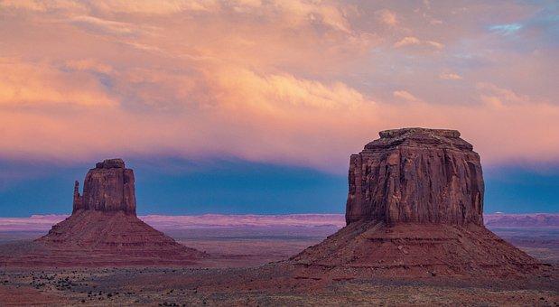 Monument Valley, National Park, Arizona, Desert