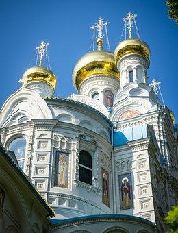 Church, Orthodox, Architecture, Religion, Monastery