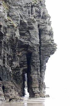 Cliff, Rock, Sea, Coast, Water, Travel, Scenery, Scenic