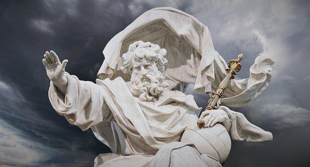 Sculpture, God The Father, Statue, God, Religion, Faith