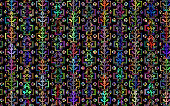 Flower, Pattern, Wallpaper, Background