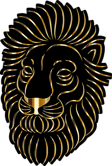 Lion, Animal, Art, Head, Feline, Wildlife, Mammal