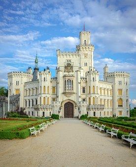 Castle Hluboká, Czech Republic, Architecture, Castle