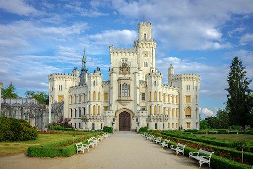 Hluboka Castle, Castle, Architecture, South Bohemia