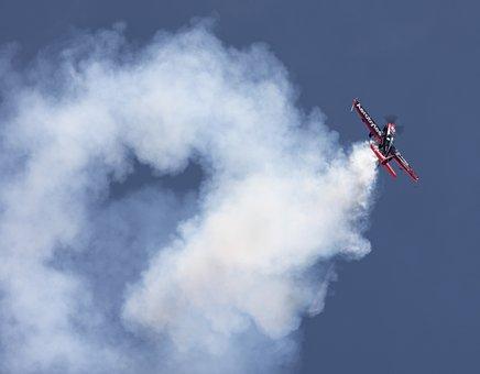 Plane, Aerobatics, Aviation, Extra E-a 300, Stunt Plane