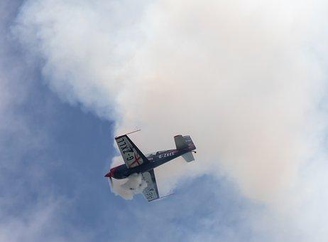 Aircraft, Stunt Plane, Airshow, Blades Stunt Team