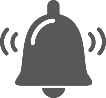 Bell, Bell Icon, Bell Button, Button, Icon, Symbol