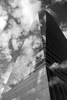 Cuatro Torres, Building, Madrid, Skyscraper, Tower